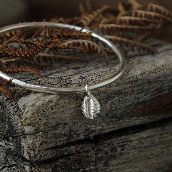 St. Martin's cowrie bangle