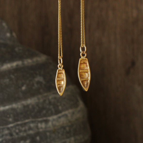 Large boat - solid 9ct gold version