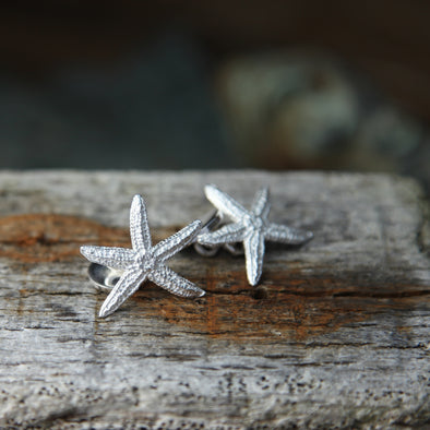 Starfish cufflinks