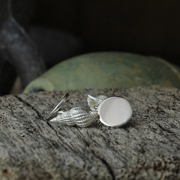 St. Martin's whelk cufflinks