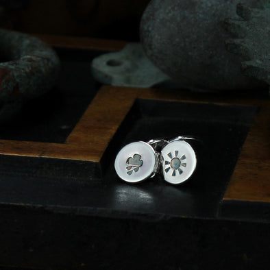 Weather cufflinks