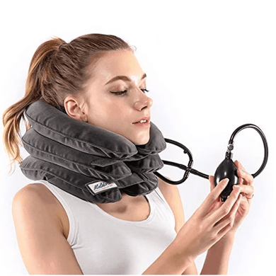 Premium Neck Relief™ Inflatable Cervical Neck Traction Device med Hart Luxury