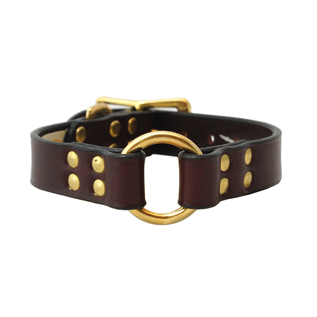 Leather Hunting Dog Collar