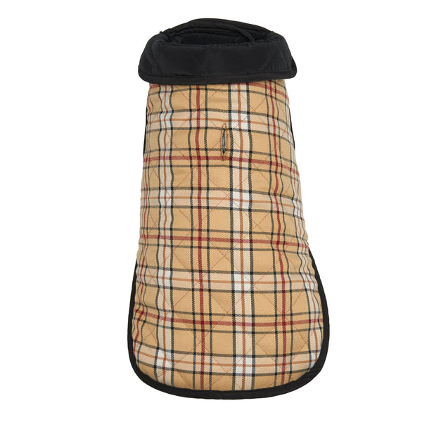 Burberry Plaid Dog Coat