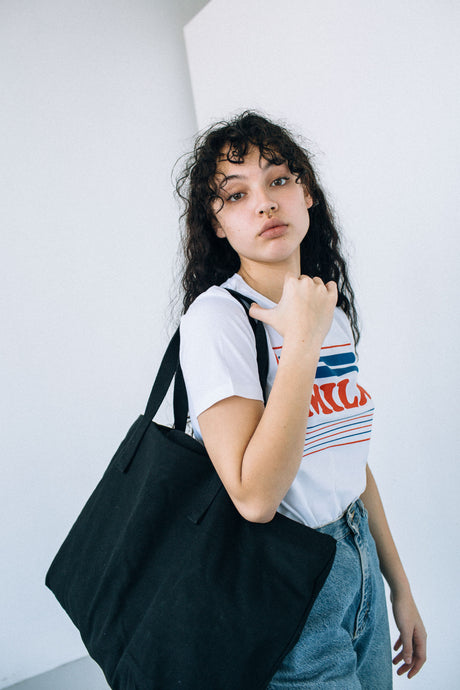the weekend bag - black