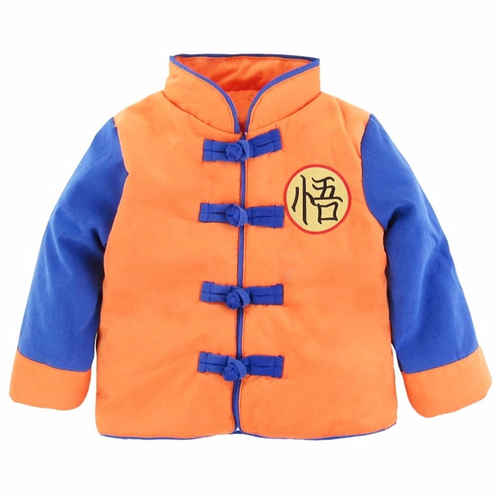 bb655d154cc13 Baby Boys Girls Winter Goku Costume for Halloween Outwear New Year ...