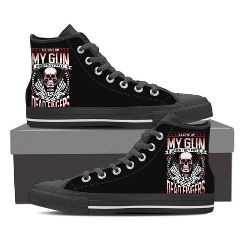 My Gun - Cold Dead Fingre - Limited Edition Shoes
