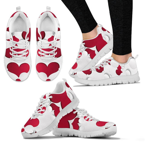 Valentine's Day Special-Heart2 Print Running Shoes For Women-Free Shipping