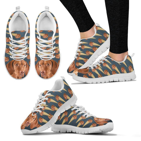 Ice Vizsla Dog Print Running Shoes For Women-Free Shipping