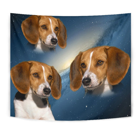American Foxhound Print Tapestry-Free Shipping