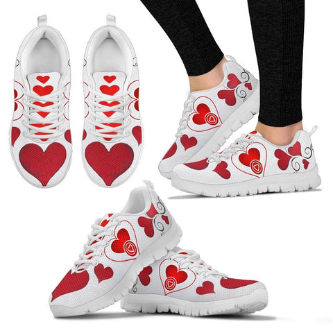 Valentine's Day Special-Heart Print Running Shoes For Women-Free Shipping