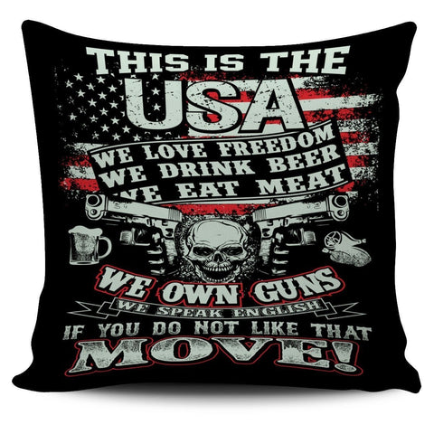 This Is the USA- Pillow Cover- Free Shipping