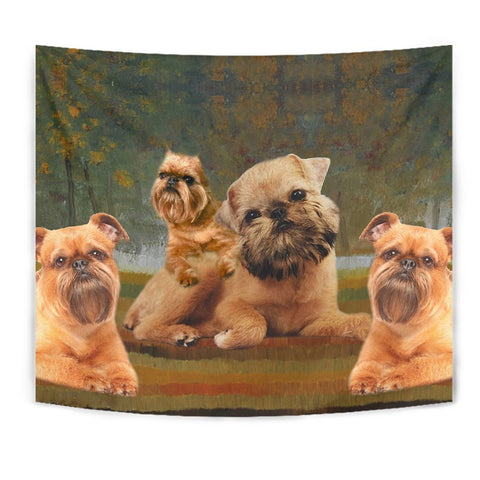 Brussels Griffon Print Tapestry-Free Shipping