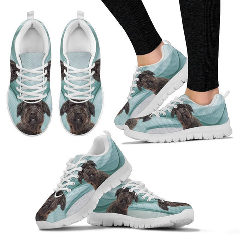 Bouvier des Flandres Print Running Shoes For Women-Free Shipping