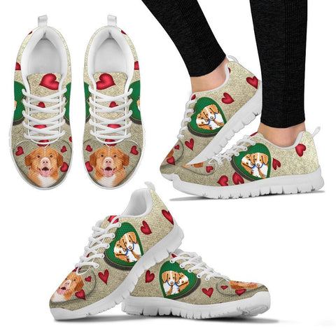 Valentine's Day Special-Nova Scotia Duck Tolling Retriever Print Running Shoes For Women-Free Shipping