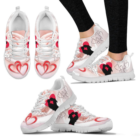 Valentine's Day Special Couple Print Running Shoes For Women- Free Shipping
