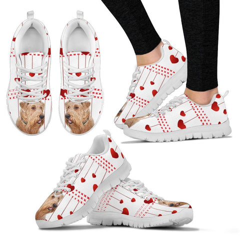 Valentine's Day Special-Irish Terrier Print Running Shoes For Women-Free Shipping