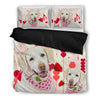 Valentine's Day Special Labrador Retriever Print Bedding Set-  Free Shipping