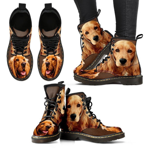 Amazing Cocker Spaniel Boots For Women- Express Shipping