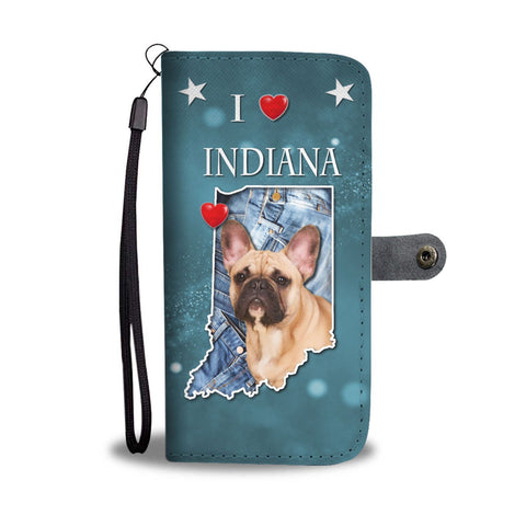 Amazing French Bulldog Print Wallet Case-Free Shipping-IN State