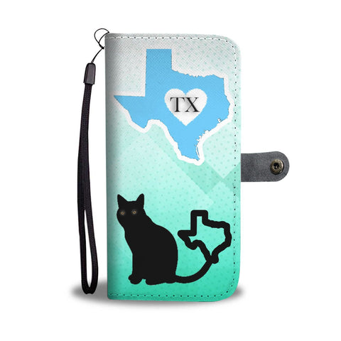 Amazing Chartreux Cat Print Wallet Case-Free Shipping-TX State