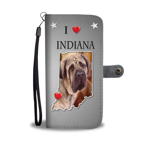 English Mastiff Dog Print Wallet Case-Free Shipping-IN State