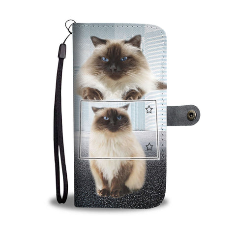 Himalayan cat Print Wallet Case-Free Shipping-CO State