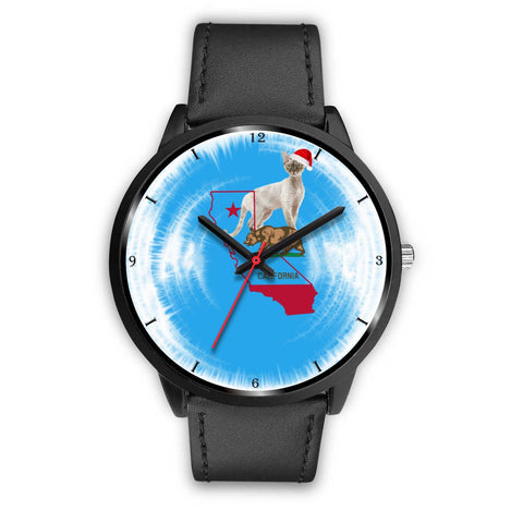 Devon Rex Cat California Christmas Special Wrist Watch-Free Shipping