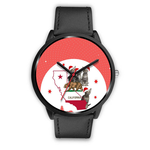 Ocicat California Christmas Special Wrist Watch-Free Shipping