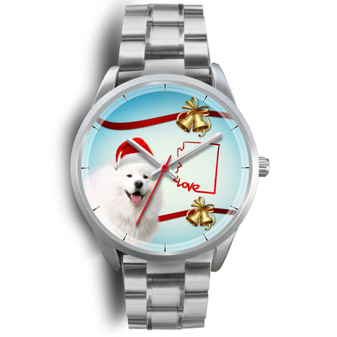 Samoyed Dog Arizona Christmas Special Wrist Watch-Free Shipping