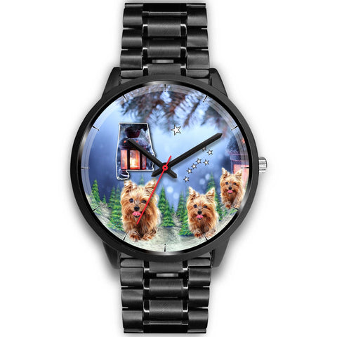 Yorkshire Terrier Alabama Christmas Special Wrist Watch-Free Shipping