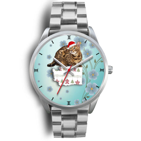 Bengal Cat Washington Christmas Special Wrist Watch-Free Shipping