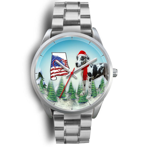 Great Dane Alabama Christmas Special Wrist Watch-Free Shipping