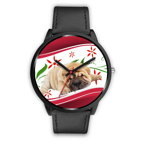 Shar Pei Dog Christmas Special Wrist Watch-Free Shipping