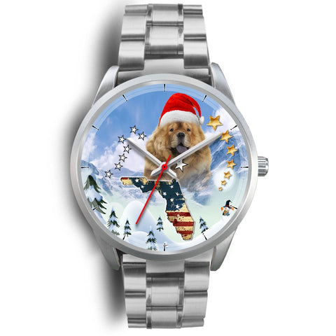 Chow Chow Florida Christmas Special Wrist Watch-Free Shipping