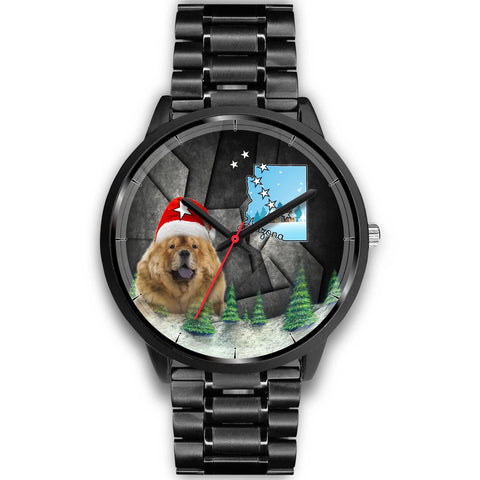 Chow Chow Arizona Christmas Special Wrist Watch-Free Shipping
