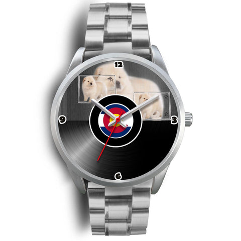 Chow Chow Dog Colorado Christmas Special Wrist Watch-Free Shipping