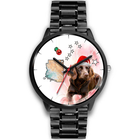 Boykin Spaniel Arizona Christmas Special Wrist Watch-Free Shipping