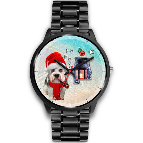 Dandie Dinmont Terrier Alabama Christmas Special Wrist Watch-Free Shipping