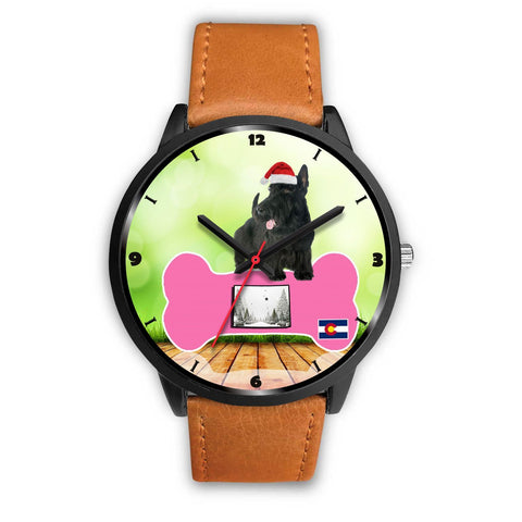 Scottish Terrier Colorado Christmas Special Wrist Watch-Free Shipping