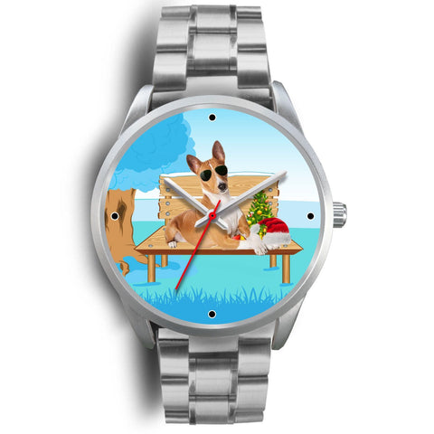 Cute Basenji Dog Christmas Special Wrist Watch-Free Shipping