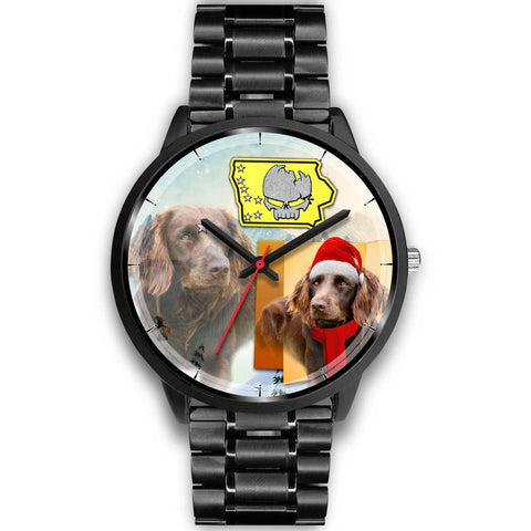 Boykin Spaniel Iowa Christmas Special Wrist Watch-Free Shipping
