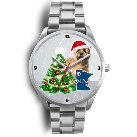 Cairn Terrier Minnesota Christmas Special Wrist Watch-Free Shipping
