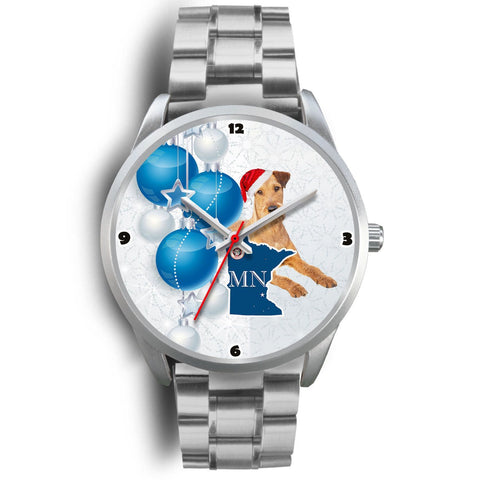 Irish Terrier Minnesota Christmas Special Wrist Watch-Free Shipping