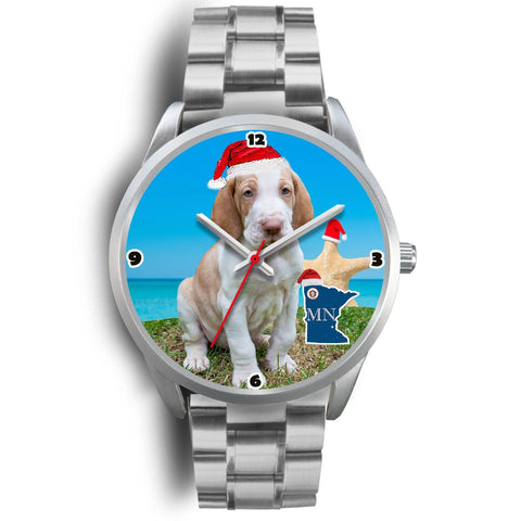 Bracco Italiano Minnesota Christmas Special Wrist Watch-Free Shipping