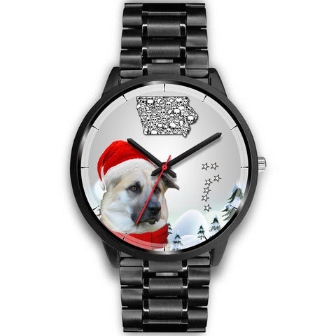 Cute Chinook Dog Iowa Christmas Special Wrist Watch-Free Shipping