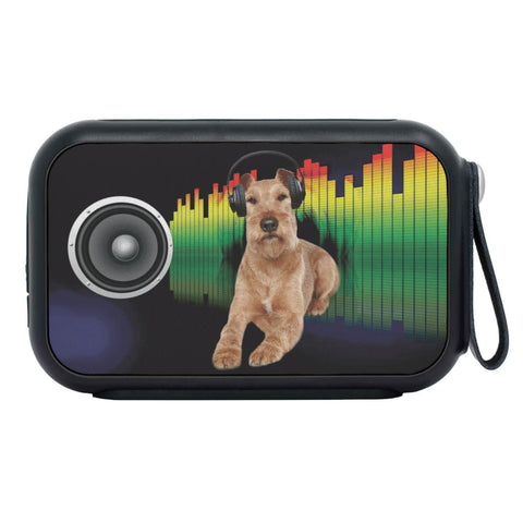 Irish Terrier Print Bluetooth Speaker