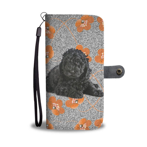 Barbet dog Print Wallet Case-Free Shipping