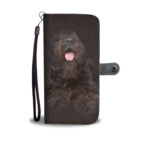 Bouvier des Flandres Dog Print Wallet Case-Free Shipping