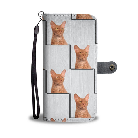 LaPerm Cat Print Wallet Case-Free Shipping